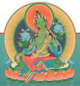 Prática de Tara Verde e Dedicatória de Kyungpo Neljor com Lama Sonam (24/04)