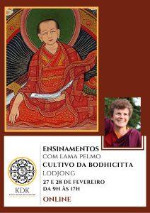 Seminário – Lodjong, o cultivo da Bodhicitta, com Lama Pelmo